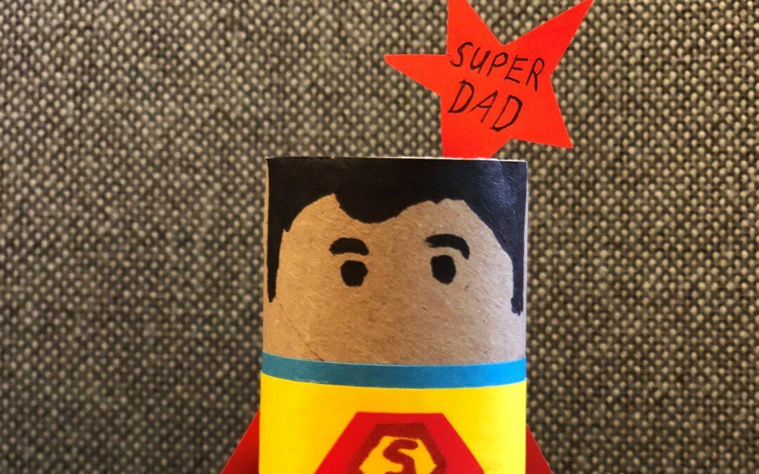 """DIY zum Vatertag: """"Super-Dad"""""""