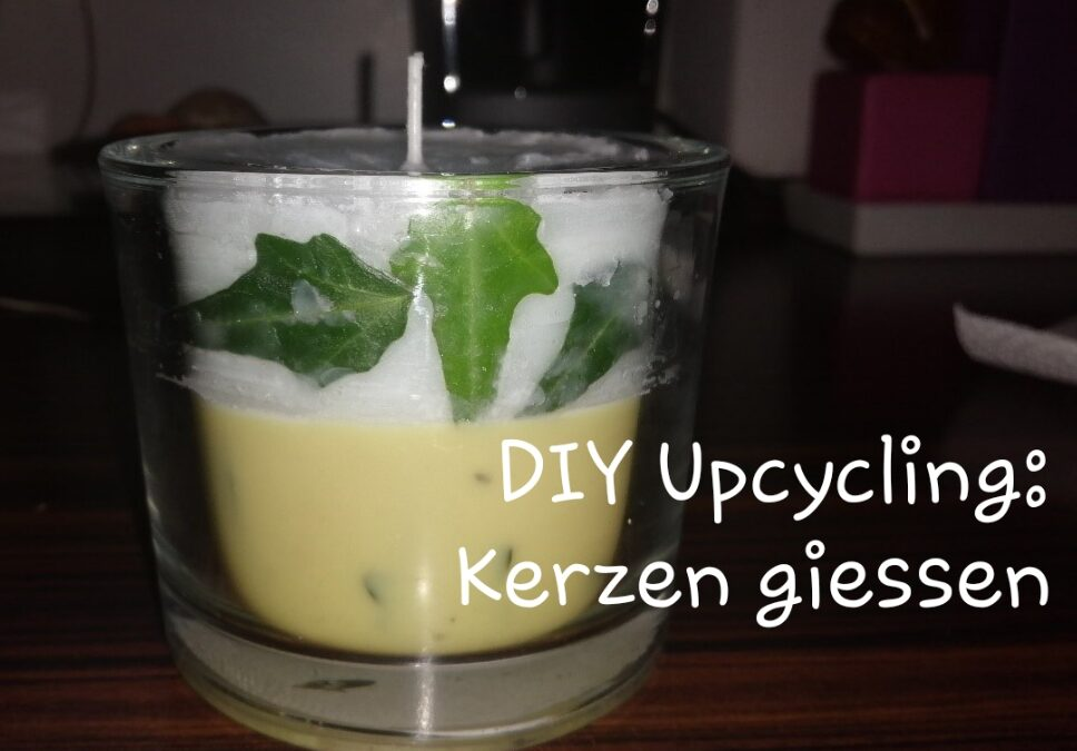 DIY Upcycling: Kerzen giessen