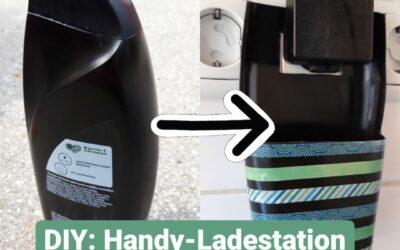 DIY Upcycling: Handy-Ladestation