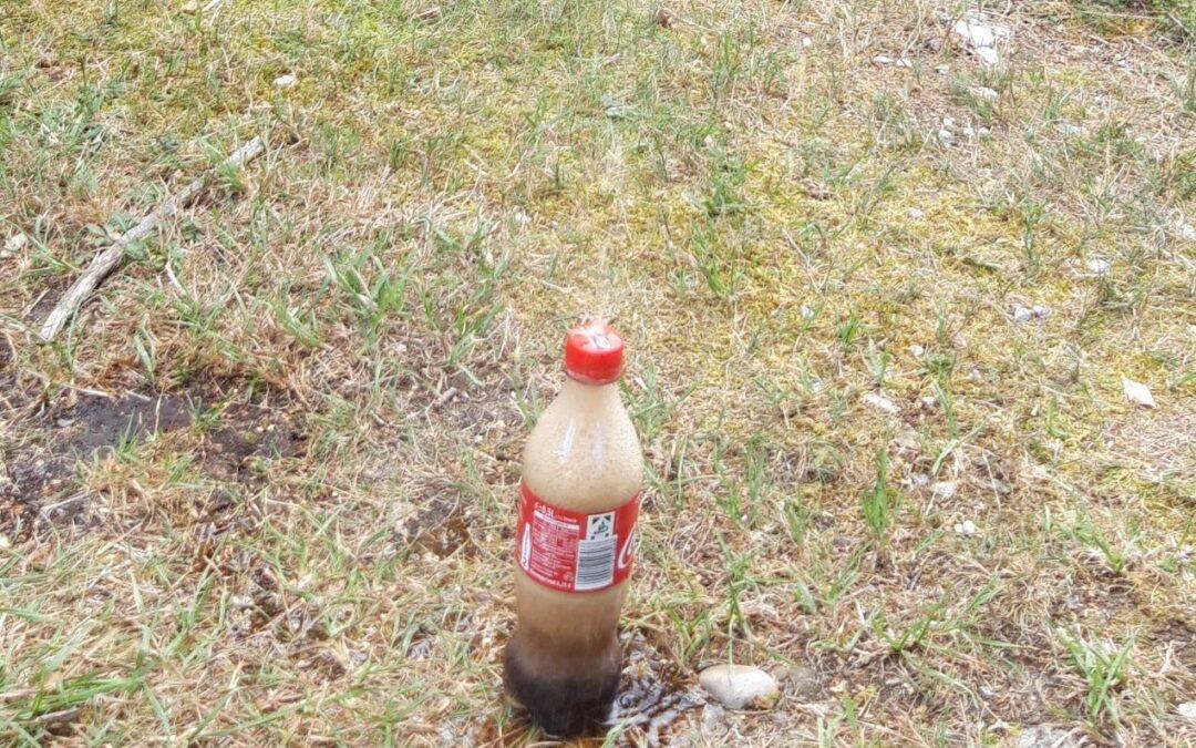 Cola Mentos Experiment