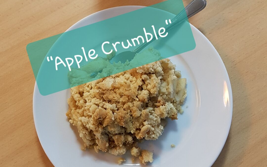 Yummy: warmer Apple Crumble