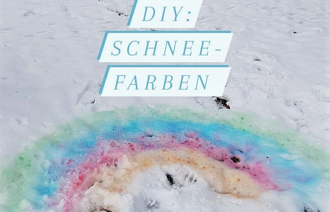 Schneefarben selber machen!
