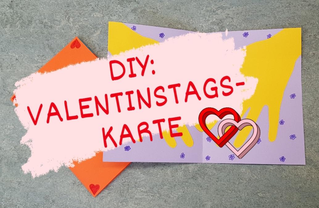 DIY: Valentinstags-Karte